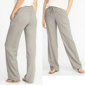 Pants - Old navy linen pants smal